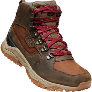 Keen Innate WP Leather Mid Shoes Dam Praline/Cherry Praline/Cherry