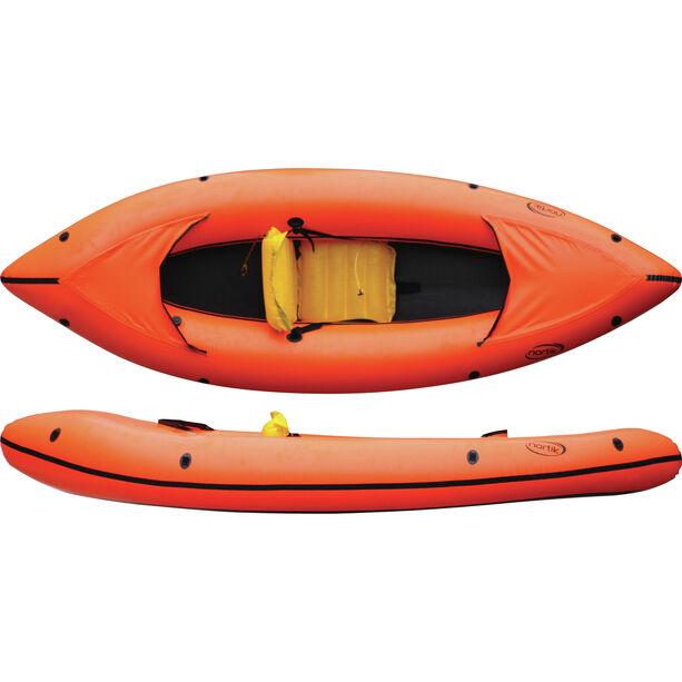 nortik Family-Raft orange/black