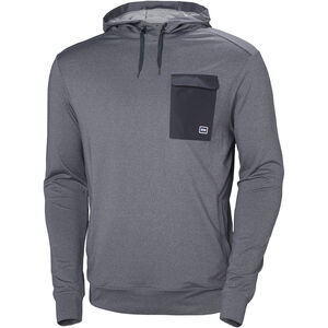 Helly Hansen Hyggen Light Hoodie Herr graphite blue graphite blue