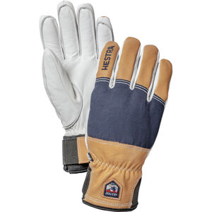 Hestra Army Leather Abisko - 5 finger marin marin