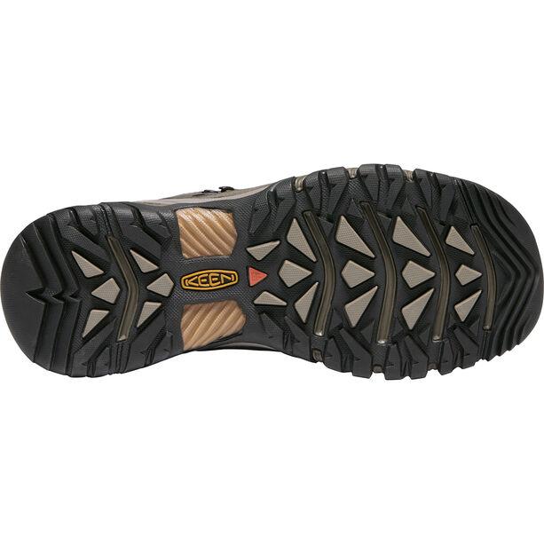 Keen Targhee III Mid WP Shoes Herr black olive/golden brown