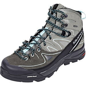 Salomon X Alp Mid LTR GTX Shoes Dam shadow/castor gray/aruba blue shadow/castor gray/aruba blue