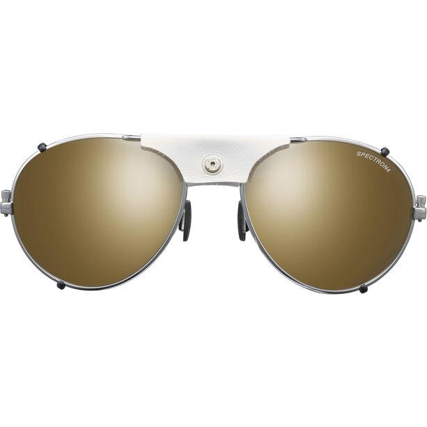 Julbo Cham Spectron 4 Sunglasses chrome/white-brown flash silver