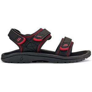 OluKai Pahu Sandals Pojkar black/black black/black