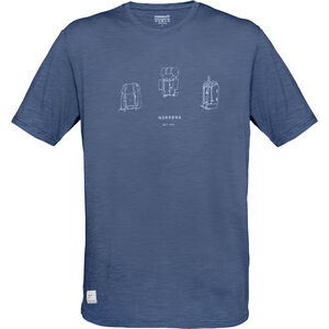 Norrøna Svalbard Wool T-Shirt Herr indigo night indigo night