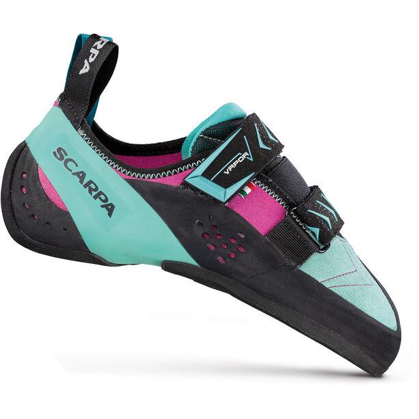 Scarpa Vapor V Climbing Shoes Dam dahlia-aqua