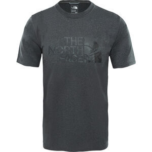 The North Face Ma Graphic Reaxion Amp Crew Herr tnf dark grey heather/tnf black tnlcm print tnf dark grey heather/tnf black tnlcm print