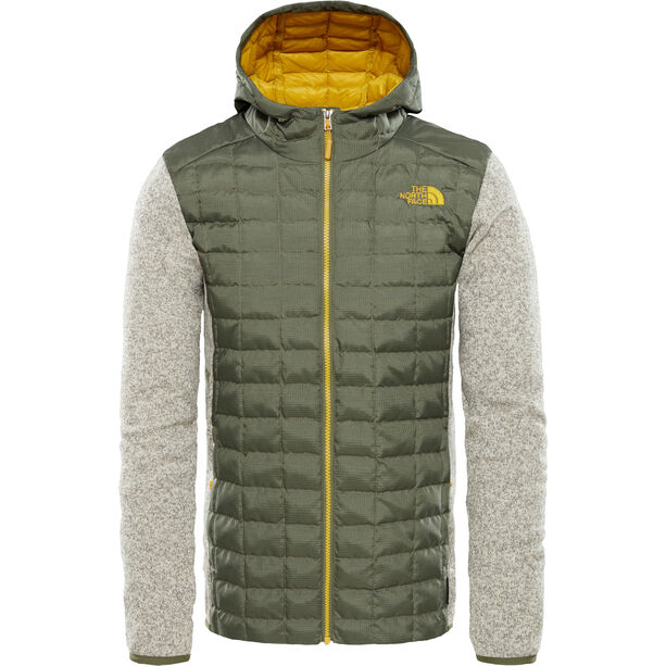 The North Face Thermoball Gordon Lyons Hybrid Hoodie Herr four leaf clover/oatmeal heather