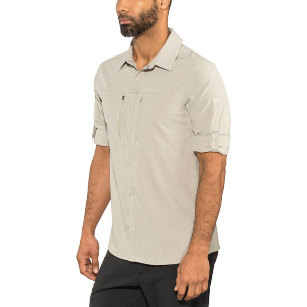 Craghoppers NosiLife Pro III Longsleeved Shirt Herr parchment parchment