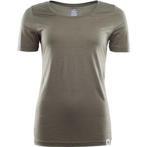 Aclima LightWool T-shirt Dam ranger green ranger green