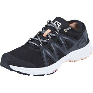 Salomon Crossamphibian Swift Shoes Dam black/phantom/peach nectar