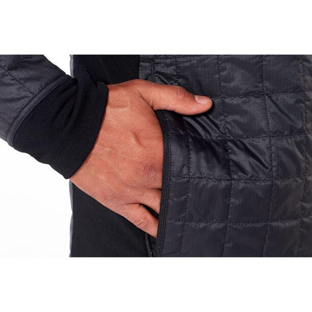 Icebreaker Helix LS Zip Jacket Herr black/jet heather