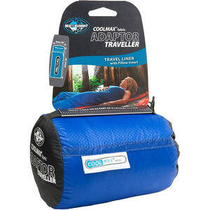 Sea to Summit Coolmax Adaptor Traveller (w/ pillow insert) blue blue