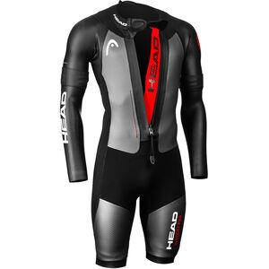 Head Swimrun MyBoost Pro Wetsuit Herr black/silver black/silver