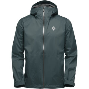 Black Diamond Stormline Stretch Rain Shell Jacket Herr deep forest deep forest