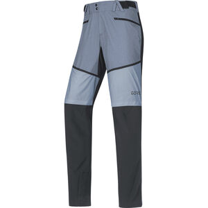 GORE WEAR H5 Gore Windstopper Hybrid Pants Herr black/cloudy blue black/cloudy blue