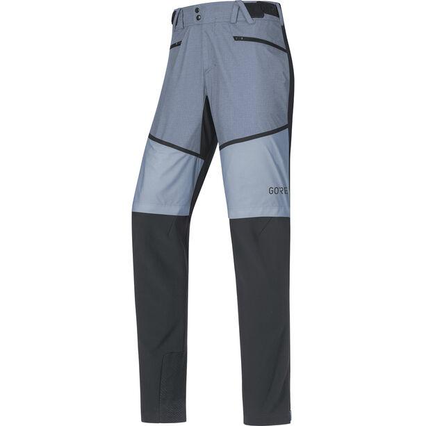 GORE WEAR H5 Gore Windstopper Hybrid Pants Herr black/cloudy blue