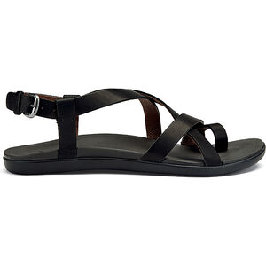 OluKai Upena Sandals Dam black/black black/black