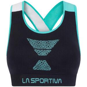 La Sportiva Focus Top Dam black/aqua black/aqua
