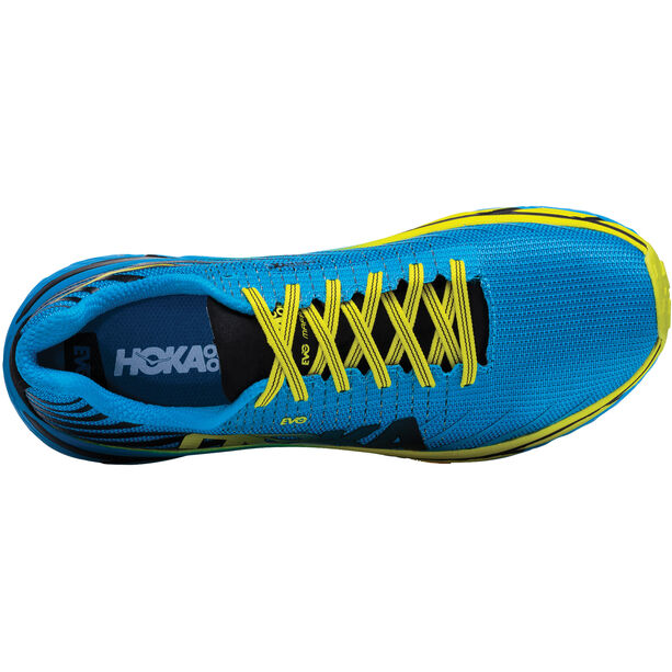 Hoka One One Evo Mafate Running Shoes Herr cyan/citrus