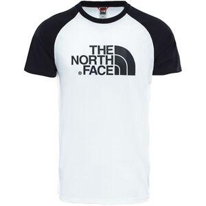The North Face Raglan Easy SS Tee Herr TNF White/TNF Black TNF White/TNF Black