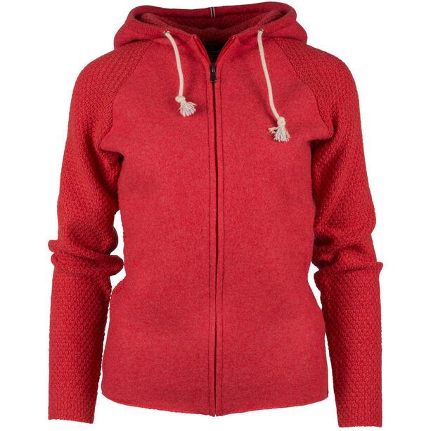 Amundsen Sports Boiled Hoodie Jacket Dam weathered red
