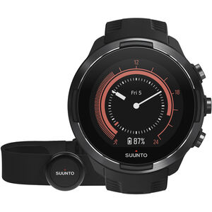 Suunto 9 GPS Mulitsport Watch with HR Belt baro black baro black