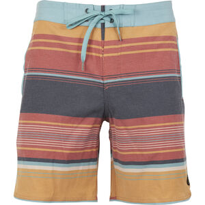 United By Blue Seabed Scallop Boardshorts Herr canyon orange canyon orange