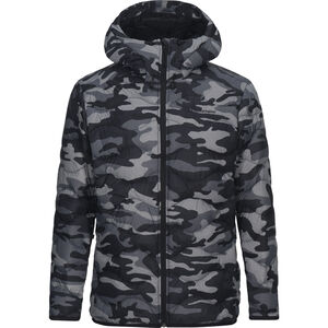 Peak Performance Helium Down Hooded Jacket Herr pattern pattern