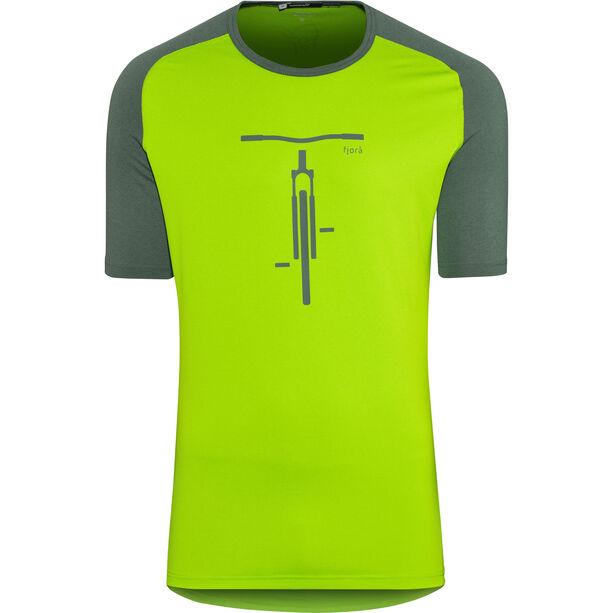 Norrøna Fjørå Equaliser Lightweight T-shirt Herr bamboo green