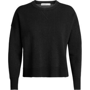Icebreaker Carrigan Reversible Sweater Sweatshirt Dam Black Black