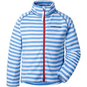 Didriksons 1913 Monte Printed Jacket Barn malibu blue simple stripe malibu blue simple stripe