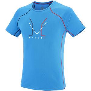 Millet Trilogy Delta Logo Short Sleeve Shirt Herr light sky light sky