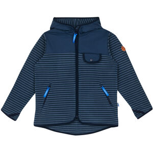 Finkid Mukava Fleece Jacket Barn blue mirage/navy blue mirage/navy