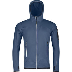 Ortovox Fleece Light Hoody Herr night blue night blue