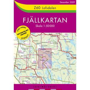 Lantmäteriet Z60 Lofsdalen 1:50 000