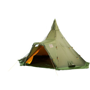Helsport Varanger 4-6 Camp Outertent + Pole green green