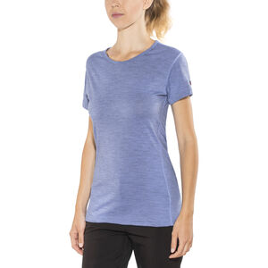Devold Breeze T-shirt Dam bluebell melange bluebell melange