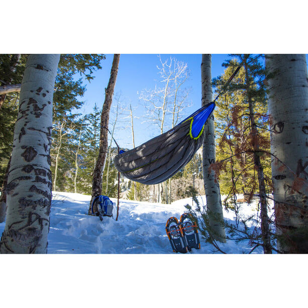 ENO Blaze Downtek Underquilt charcoal/lime