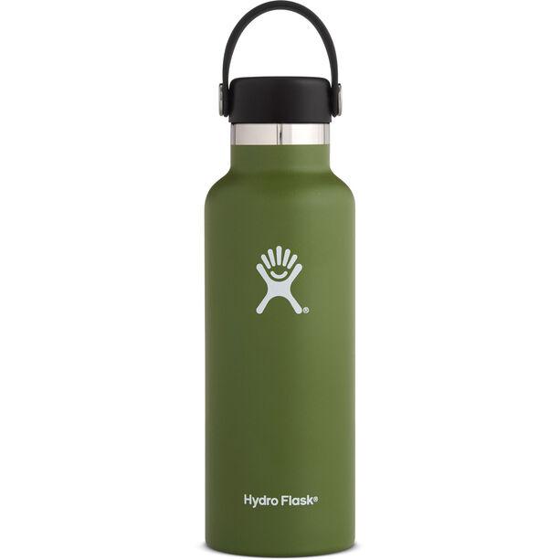 Hydro Flask Standard Mouth Flex Bottle 532ml olive