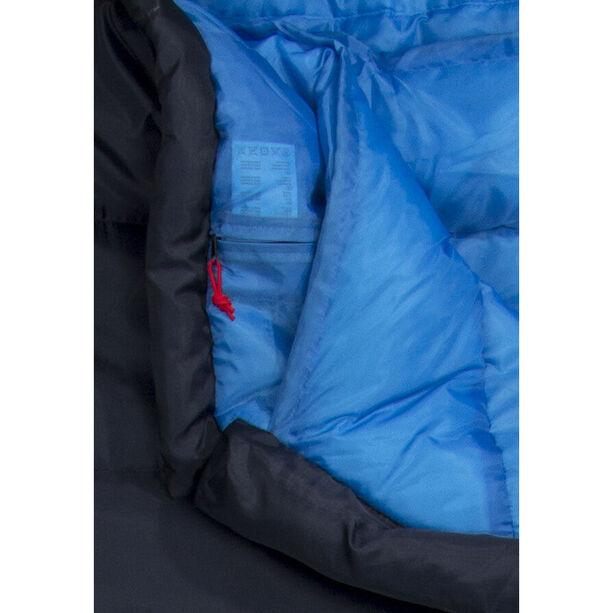 CAMPZ Trekker Pro Sleeping Bag anthracite/blue