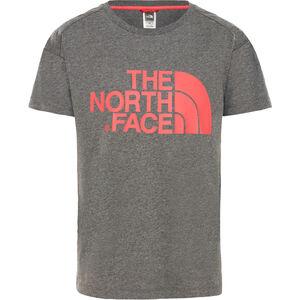 The North Face Boyfriend S/S Tee Flickor tnf medium grey heather tnf medium grey heather