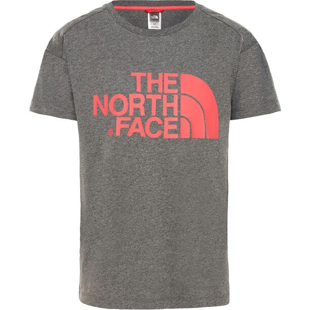 The North Face Boyfriend S/S Tee Flickor tnf medium grey heather