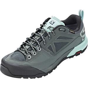 Salomon X Alp SPRY GTX Shoes Dam balsam green/urban chic/canal blue balsam green/urban chic/canal blue