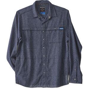 KAVU Solitude Shirt Herr Workwear Blue Workwear Blue