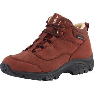 Haglöfs Kummel Proof Eco Shoes Dam Maroon Red Maroon Red