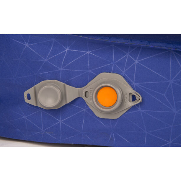 Sea to Summit Comfort Deluxe Self Inflating Mat Regular Wide blue