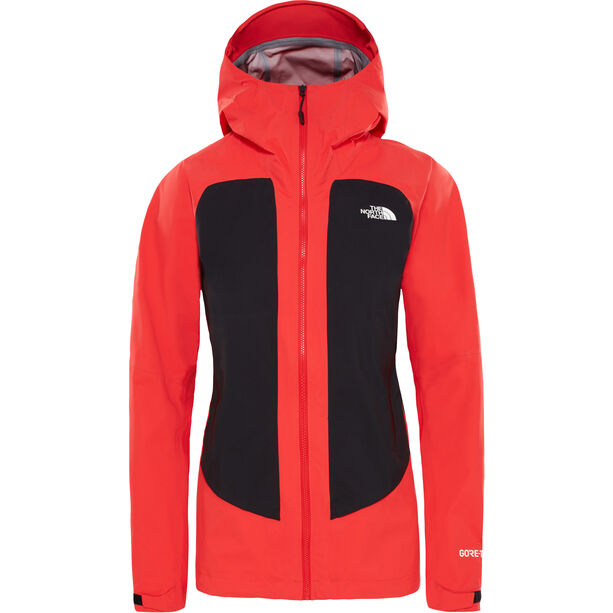 The North Face Impendor Cknit Shell Jacket Dam juicy red/tnf black