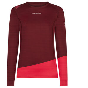 La Sportiva Dash Long Sleeve Shirt Dam wine/orchid wine/orchid