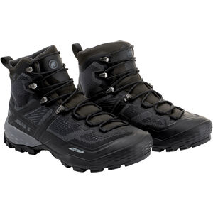 Mammut Ducan High GTX Shoes Herr black-black black-black